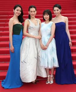 2015年度カンヌ国際映画祭・日本人女優